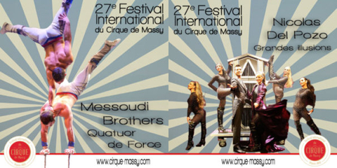 27ÈME FESTIVAL INTERNATIONAL DU CIRQUE DE MASSY