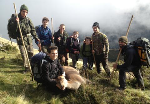 Apprentis chasseurs