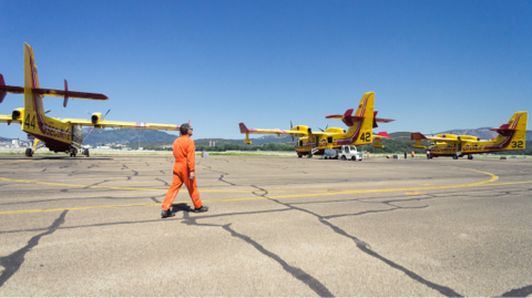 Canadair, On Earth as in the Heavens