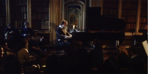 Chilly Gonzales & Kaiser Quartet live at the Galerie de la Bibliothèque de Versailles