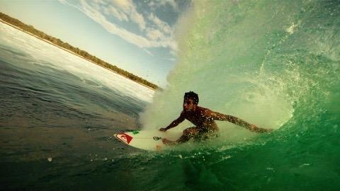 Jeremy FlorEs, danser dans les vagues