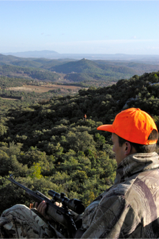 Languedoc Roussillon, chasseurs je vous aime