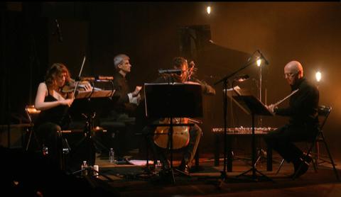 ON THE RING (Ensemble Alternance / Snake / Alexandros Markeas)