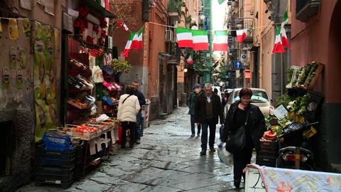 COMME UN PARFUM D'ITALIE