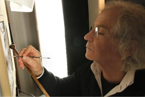 ALBERT SAUTEUR, un Autoportrait