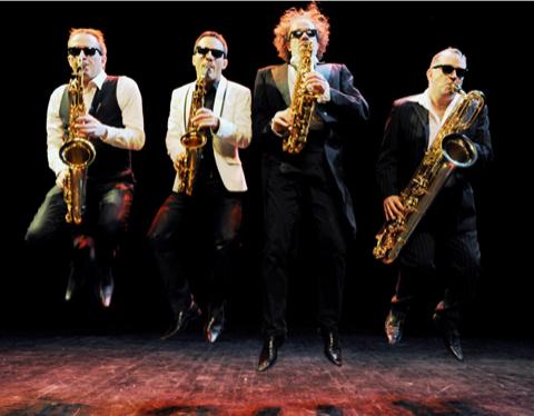 Les DÉsaxÉs : Saxophonissimo