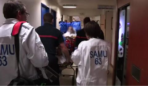 Au cœur des urgences de Clermont Ferrand