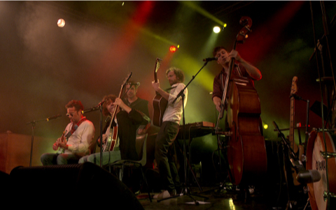 Le concert d'Astaffort : Francis Cabrel et les Astagiaires