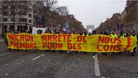 Gilets Jaunes : quand la France s'embrase