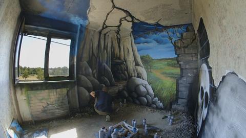 HOTEL 128, street art en immersion