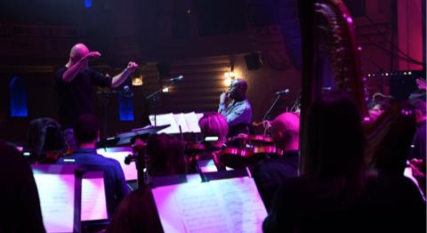 MANU DIBANGO : safari symphonique au Grand Rex