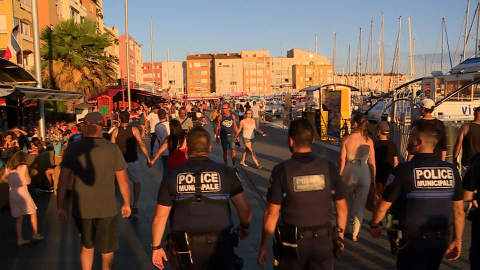 Police de l'ÉtÉ au Cap d'Agde