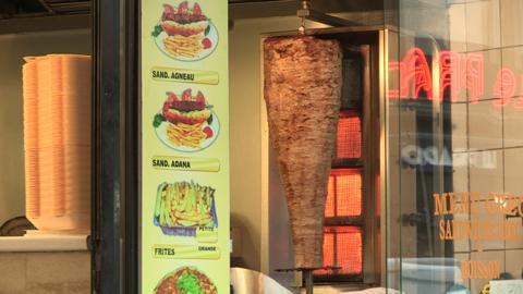 Restauration rapide / pizzas burgers surgelés