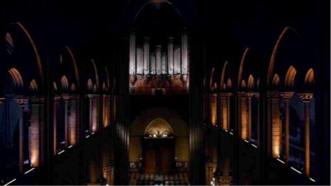 Olivier Latry aux Grandes Orgues de Notre-Dame de Paris