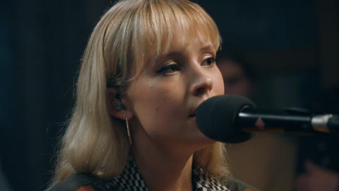 ANGÈLE, a private concert, Paris